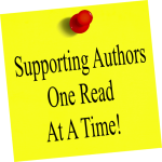 Supporting Authors One Read at a Time Badge